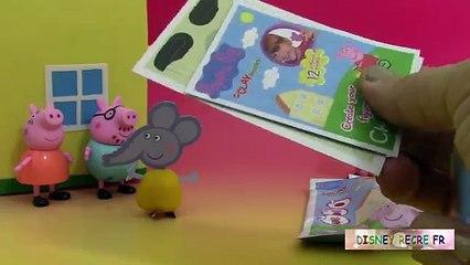 Pâte modeler Peppa Pig Clay Buddies Figurines ♥ Blind Bags