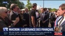 La défiance grandissante des Français envers Emmanuel Macron
