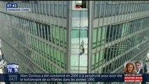 En Chine, des laveurs de vitres sont restés bloqués 3h au 57e étage d'un immeuble
