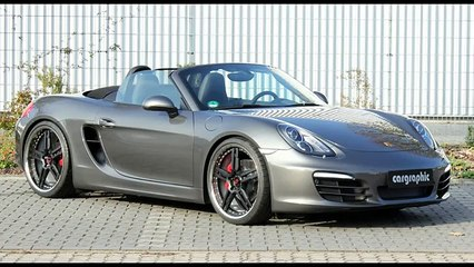 Porsche 981 Boxster with Performance Exhaust System by Cargraphic