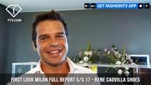 Rene Caovilla Shoes Milan Fashion Week Full Report Spring/Summer 2017 | FashionTV | FTV
