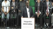 Inauguration du palais des sports de Dakar