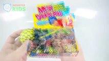 Mesh Squishy Ball VS DIY Mesh Slime Ball ,  MonsterKids