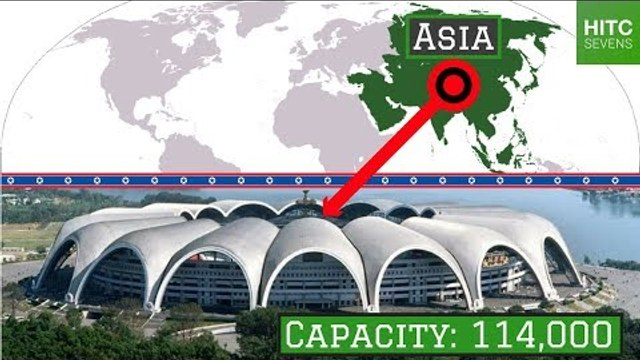 The Largest Stadium in Each of the World's 7 Continents