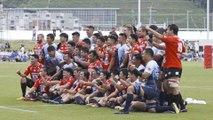Inspirational Kamaishi rebuilding through rugby