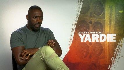 YARDIE: Idris Elba getting a face tattoo?