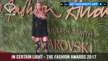 In Certain Light - THE FASHION AWARDS 2017 RED CARPET HIGHLIGHTS | FashionTV | FTV