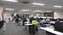 Drone urges Japanese workers to leave office following new work-life balance law
