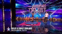 Roller skaters Billy and Emily are wheelie good! | Audition Week 1 | Britains Got Talent