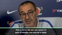 """3e j. - Sarri : """"La Premier League est une guerre"""""""