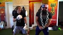 KSI Disses Logan Paul & Chloe Bennet Before Fight | Hollywoodlife