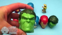 Marvel Avengers Surprise Egg Learn A Word! Spelling Words Starting With R! Lesson 5