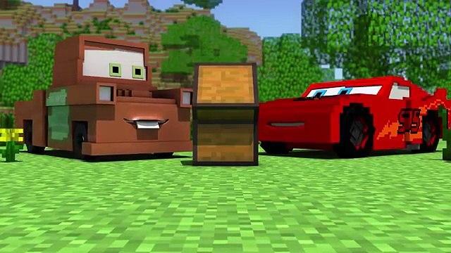 Disney Pixars Cars in Minecraft 2 Animation