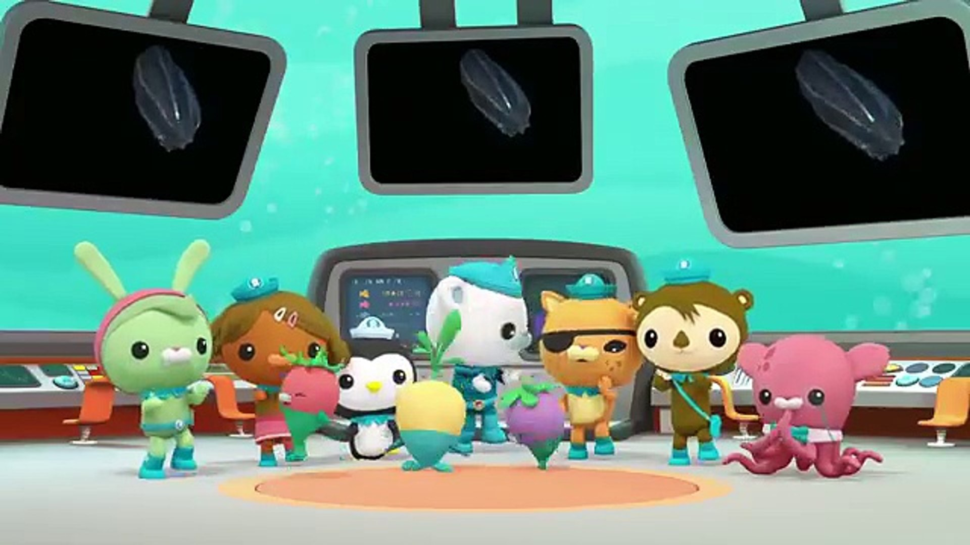 Octonauts Learn about Tentacles | Cartoons for Kids | Underwater Sea Education