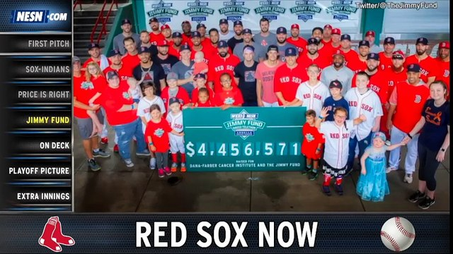 Red Sox Now: Indians-Red Sox Recap, Jimmy Fund Radio Telethon Highlights