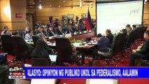 Palasyo: Opinyon ng publiko ukol sa pederalismo, aalamin