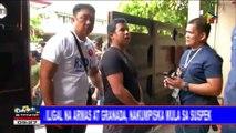 Lalaking nanakit umano ng traffic enforcer, arestado; Mga iligal na armas at granada, nakumpiska mula sa suspek