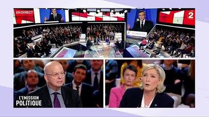 Linattendu : Patrick Buisson LEmission politique avec Marine Le Pen le 10/02/new (Franc