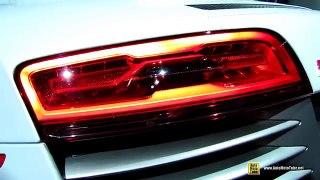 new Audi R8 V10 Plus Exterior and Interior Walkaround new New York Auto Show