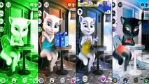 Talking Tom And Friends Kids Games Compilation Talking Tom Cat Colors Reion Angela Ben