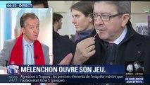"""ÉDITO - """"Mélenchon voudrait se poser en ramasse-miettes de la gauche mais c'est loin d'être fait"""", analyse Christophe Barbier"""