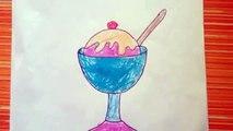 Cizim Rengi Ve Boya 3 Kucuk Dondurma Cubuklari Boyama Sayfasi