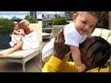 Kylie Jenner & Travis Scott Share ADORABLE Pics Of Stormi Webster
