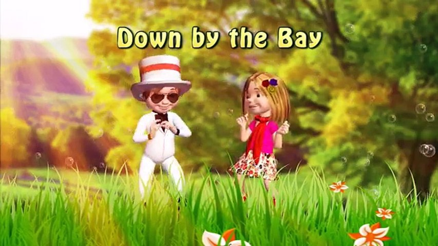 Down By the Bay | Family Sing Along Muffin Songs