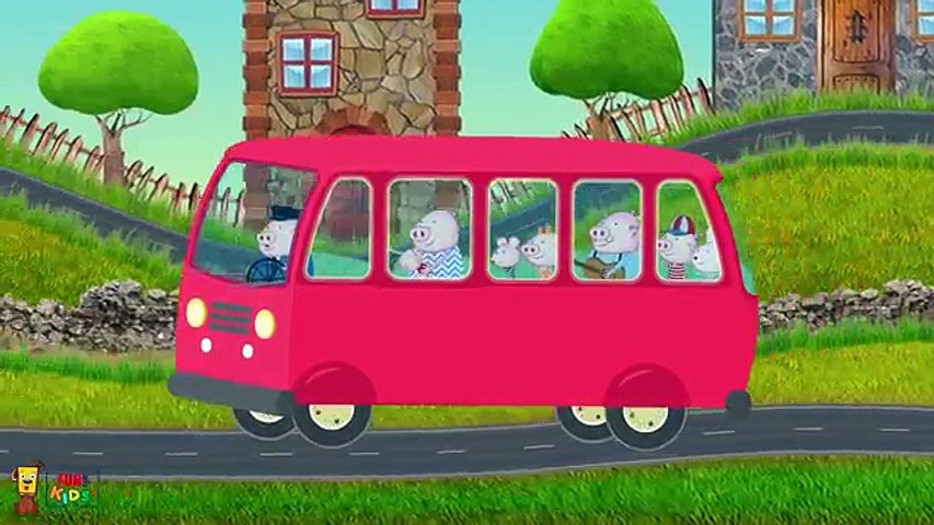 The Wheels On The Bus Go Round and Round   FunForKidsTV Nursery Rhymes