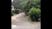 À Hawaï, l'eau déferle déjà dans les rues à cause de l'ouragan Lane