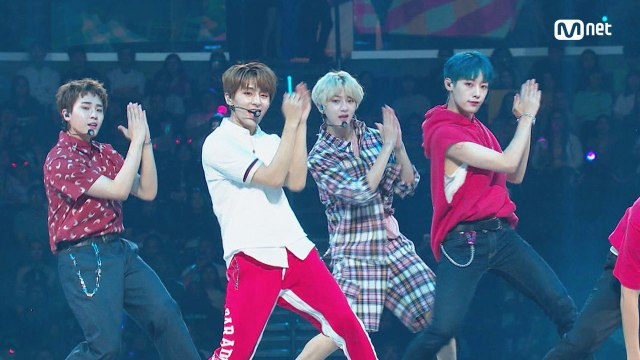 KCON 2018 LA×M COUNTDOWN 골든 차일드(Golden Child) - INTRO Perf. + LET ME