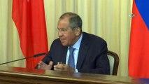 - Bakan Çavuşoğlu Ve Lavrov Ortak Basın Toplantısı Düzenledi- Dışişleri Bakanı Mevlüt Çavuşoğlu:- 'Suriye'de Ateşkes İçin Rusya İle Çalışmaya Devam Ediyoruz'- 'İdlib'de Askeri Bir Müdahale Felaket Getirir'- Rusya Dışişleri Baka..