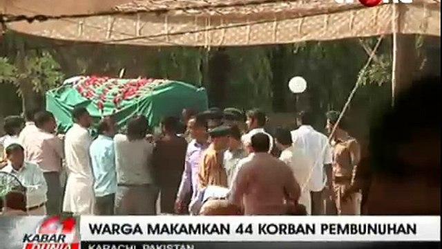 44 Warga Syiah Korban Pembunuhan di Pakistan Dimakamkan Massal
