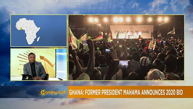Former Ghanaian president John Mahama to give presidency another shot [The Morning Call]