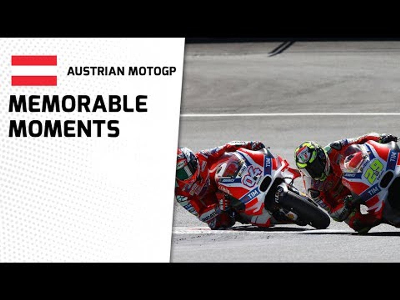 Austrian MotoGP - Memorable Moments