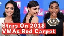 MTV VMAs 2018 Red Carpet: Stars Dish On Go-To Workout Song, 'NSYNC Vs Backstreet Boys Debate
