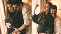 Neha Dhupia and Angad Bedi CONFIRM Pregnancy with these Adorable Pics   FilmiBeat