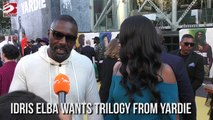 Idris Elba wants trilogy from yardie