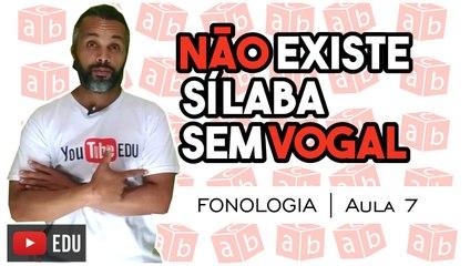 ENCONTROS CONSONANTAIS | Português - Fonologia - Aula 7: