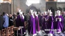 Cambrai - Les obsèques de l'archevêke Monseigneur françois Garnier