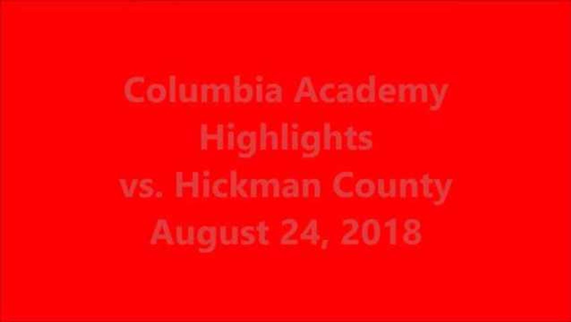 Columbia Academy Highlights