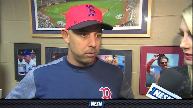 Alex Cora Laments Red Sox's Inability To Put Guys Away In Loss Vs. Rays