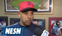 Alex Cora on the Red Sox 10-3 loss to the Rays