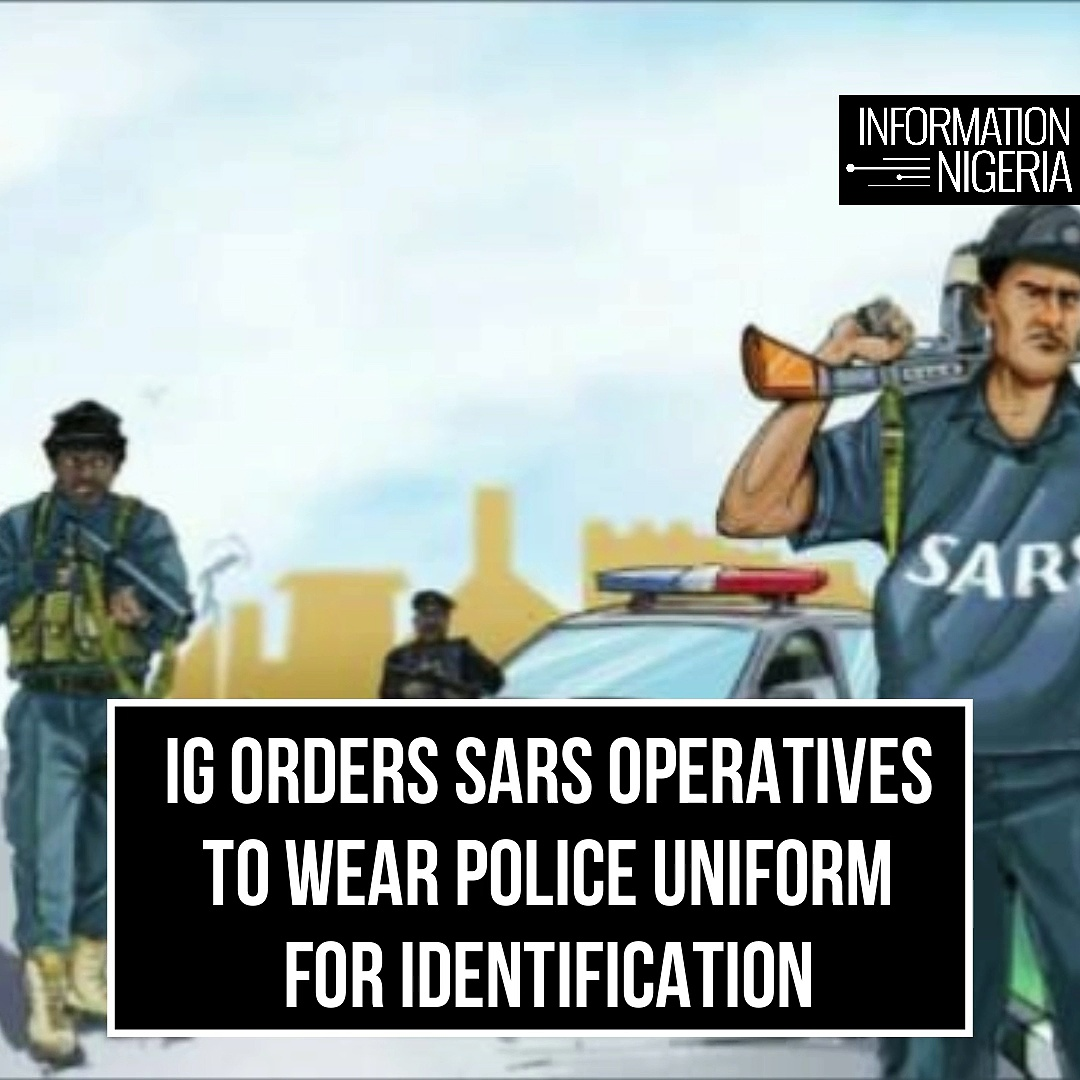 SARS operatives must wear Police uniform for identification –IG