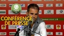 Conférence de presse US Orléans - Paris FC (4-0) : Didier OLLE-NICOLLE (USO) - Mecha BAZDAREVIC (PFC) - 2018/2019
