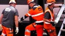 Déraillement à la gare Saint-Charles de Marseille : les opérations de relevage ont débuté