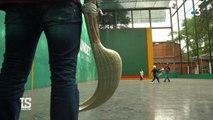 Immersion dans le quotidien d'Eric Irastorza au Mexique, septuple champion du monde de pelote basque