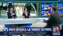 """Abus sexuel: le Pape évoque sa """"honte"""" (1/3)"""