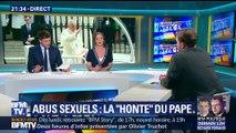 """Abus sexuel: le Pape évoque sa """"honte"""" (2/3)"""