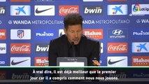 "2e j. - Simeone : ""Lemar est important et va encore progresser"""